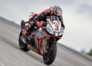 Superbike Test Portimao: Il maltempo e una caduta rallentano il lavoro di Max Biaggi