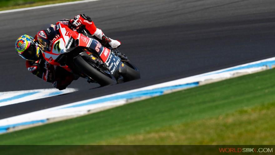 Superbike: Ottimo inizio per l'Aruba.it Racing Ducati