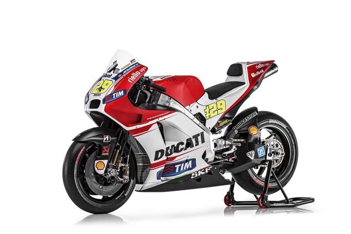 MotoGP: I dati tecnici della nuova Ducati GP15