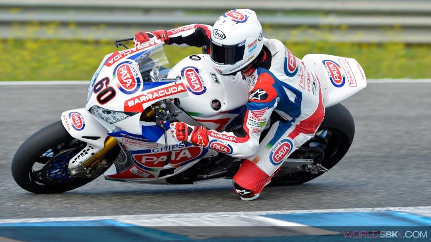 Superbike: Inizio positivo per il Team Pata Honda