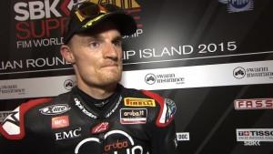 Superbike: Chaz Davies è sorpreso della prima fila