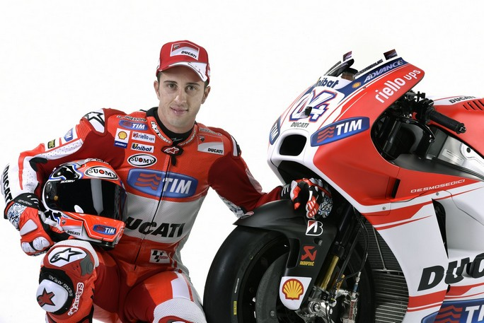 """MotoGP: Andrea Dovizioso, """"Non vedo l'ora di provare la nuova GP15"""""""