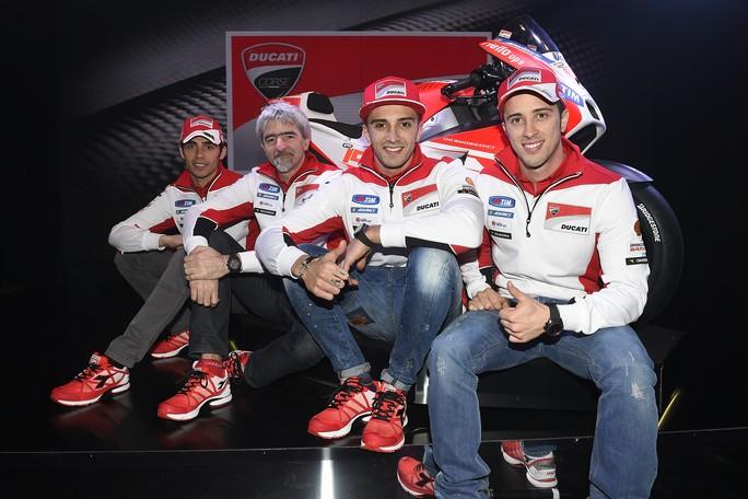 MotoGP: Ducati GP15, parlano (video) Andrea Iannone, Andrea Dovizioso e Luigi Dall'Igna