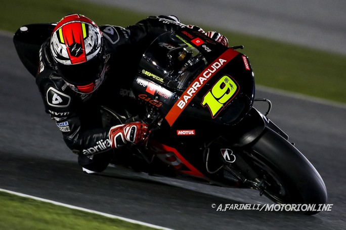 "MotoGP Qatar: Alvaro Bautista, ""Iniziamo una nuova sfida con Aprilia"""