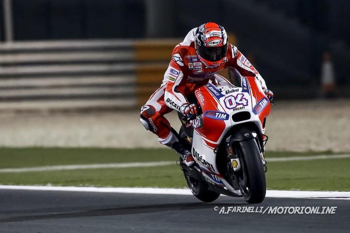 """MotoGP: Test Qatar Day 2, Andrea Dovizioso """"Abbiamo lavorato bene usando sempre la gomma dura"""""""