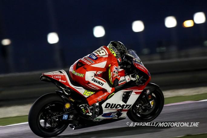 """MotoGP: Test Qatar Day 2, Andrea Iannone """"Sono molto contento per come è andata"""""""