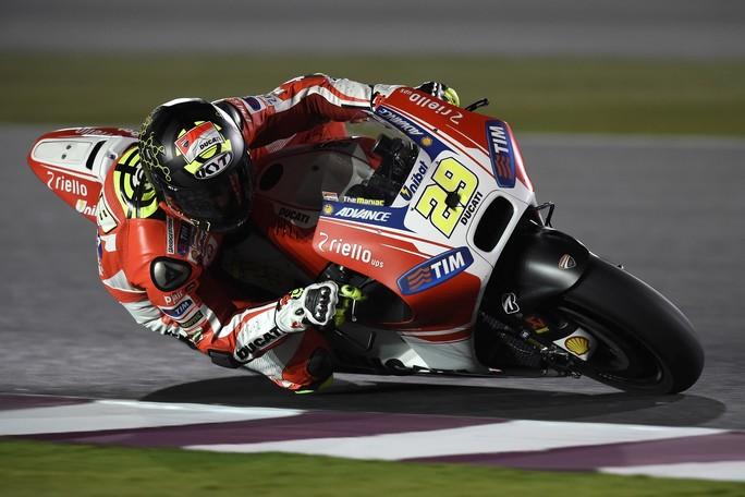"""MotoGP Qatar: Andrea Iannone, """"Dopo i test sono fiducioso per la gara"""""""