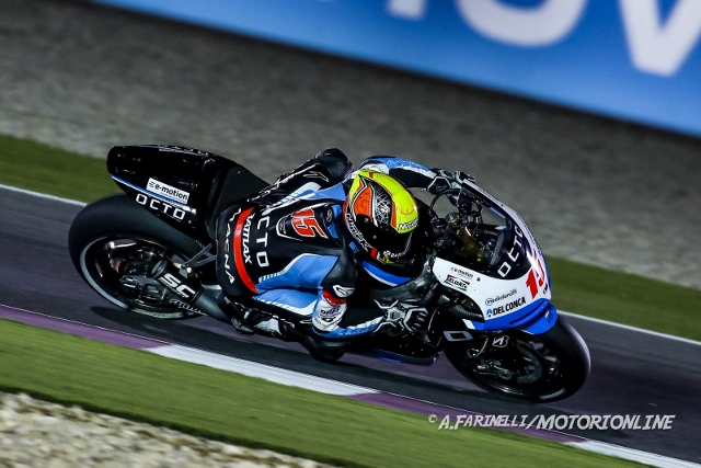 """MotoGP Qatar: Alex De Angelis """"Fare di più oggi era difficile, gli altri avevano un passo troppo veloce"""""""