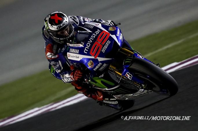 "MotoGP: Jorge Lorenzo, ""In Qatar per lottare per la vittoria"""
