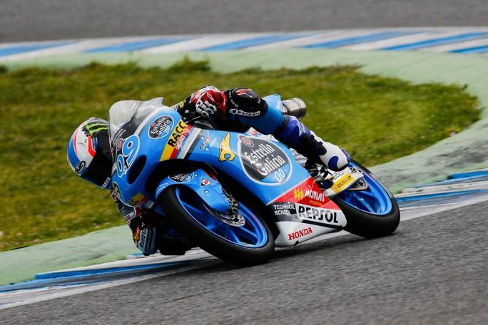 Moto3: Test Jerez, Navarro il più veloce della tre giorni, Antonelli il migliore degli italiani