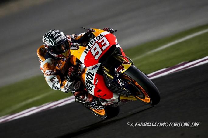 MotoGP Qatar, Prove Libere 1: Marquez al Top, Petrucci sesto e prima Ducati!