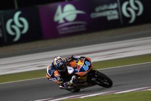 Moto3 Qatar, Warm Up: Oliveira al comando, Antonelli è ottavo
