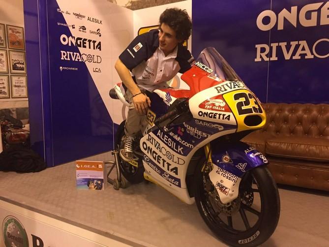 """Moto3: Niccolò Antonelli, """"Quest'anno non mi pongo obiettivi, cercherò sempre di raccogliere il massimo"""""""
