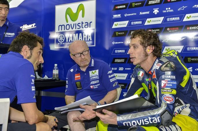 """MotoGP: Valentino Rossi, """"La Ducati non ha più bisogno della gomma morbida"""""""