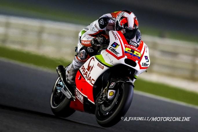 """MotoGP Qatar: Yonny Hernandez, """"Grande feeling con la moto, ora pensiamo alla gara"""""""