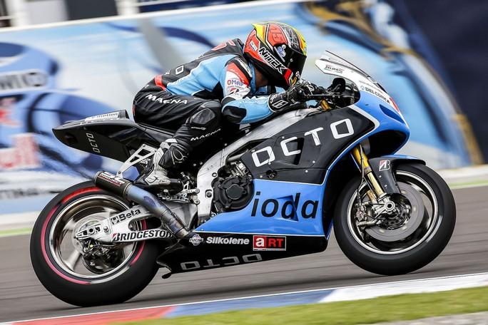 "MotoGP Argentina: Alex de Angelis, ""Pista bellissima, oggi abbiamo lavorato bene"""