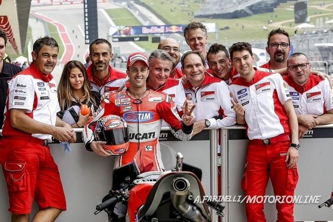 """MotoGP: Andrea Dovizioso, """"Siamo convinti di poter lottare per il vertice anche in Argentina"""""""