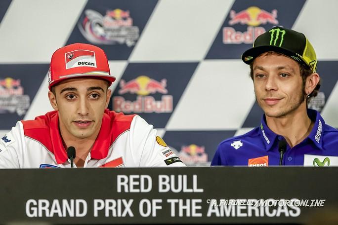 """MotoGP Austin Press Conference: Andrea Iannone, """"La Ducati GP15 ha sorpreso tutti, ma ha ancora margini di sviluppo"""""""