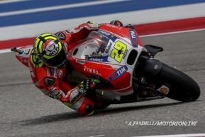"""MotoGP Austin: Andrea Iannone, """"Sono contento, con la gomma dura siamo andati molto forte"""""""