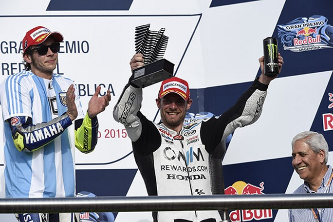 """MotoGP Argentina: Cal Crutchlow, """"Soddisfatto di questo podio!"""""""