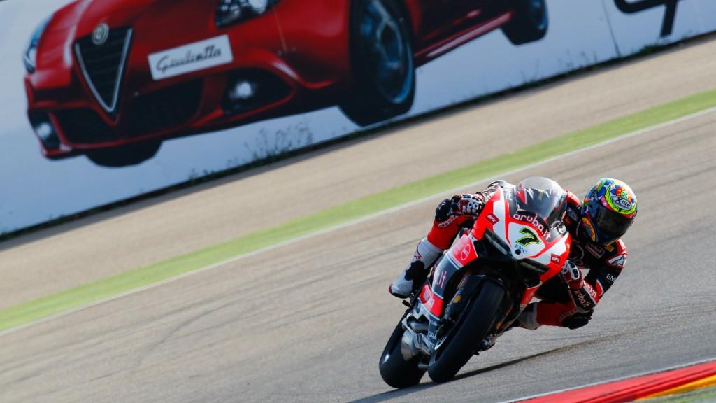 Superbike: Chaz Davies è il più veloce nelle terze libere