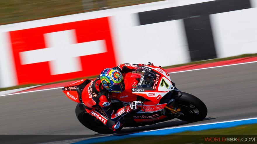 Superbike: Per Chaz Davies miglior tempo nelle FP2 di Assen