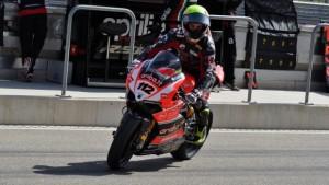 Superbike: Xavier Fores è il più veloce nel Warm Up