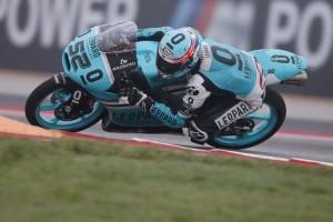 Moto3 Austin, Prove Libere 3: Kent già sotto al record, bene Locatelli e Antonelli