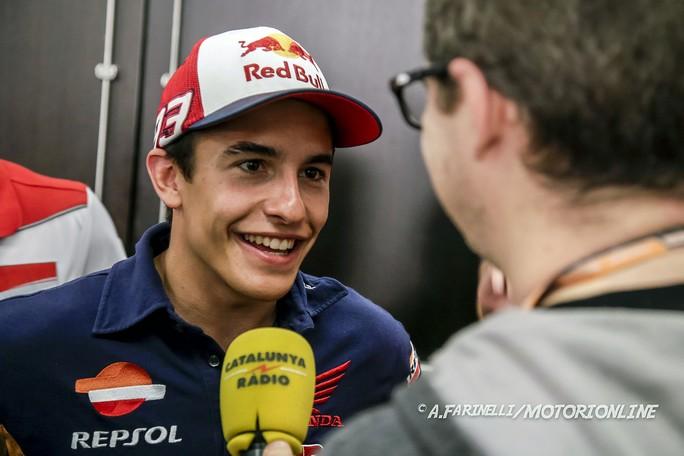 """MotoGP: Marc Marquez, """"Stoner? Ha deciso la Honda"""""""