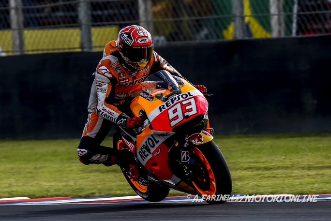 """MotoGP Argentina: Marc Marquez, """"Con il pneumatico extra-hard non avremmo potuto lottare per la vittoria"""""""
