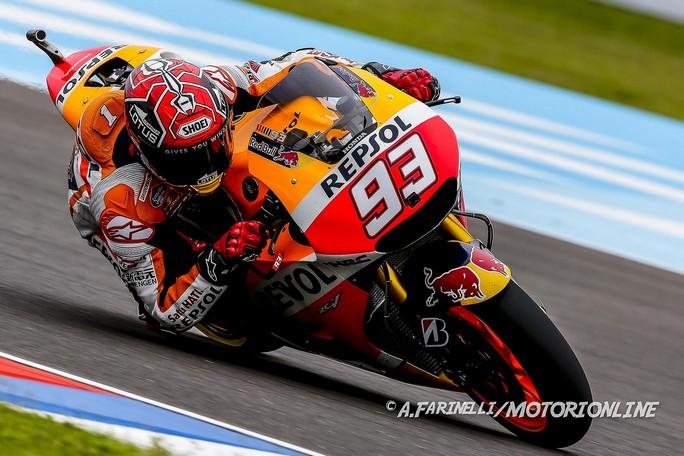 MotoGP Argentina, Prove Libere 3: Marquez in vetta, bene Suzuki e Ducati, Petrucci in Q2