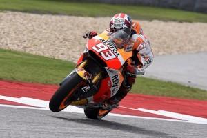 MotoGP Austin, Prove Libere 2: Marquez in vetta, Iannone 3°, Dovizioso 5° e Rossi 6°