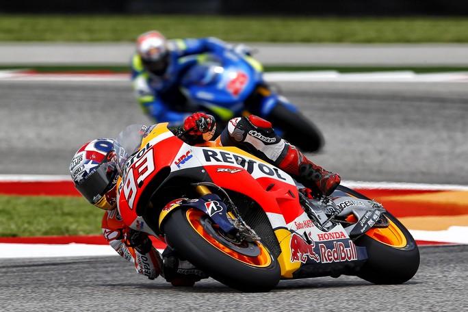 MotoGP Austin: Marquez, pole fenomenale! Battuti Dovizioso e Lorenzo, Rossi è quarto