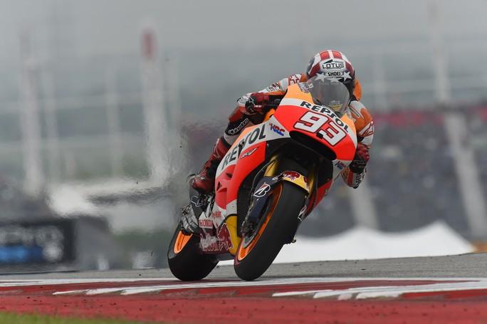 MotoGP Austin: Marquez torna al successo, Dovizioso batte Valentino Rossi