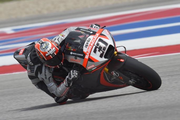 MotoGP Austin: L'Aprilia continua lo sviluppo con Marco ...