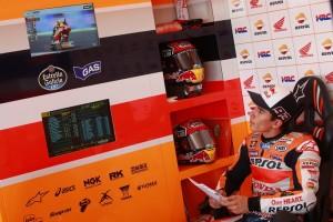 MotoGP: Frattura del mignolo della mano sinistra per Marc Marquez, ma a Jerez ci sarà