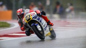 Moto3 Austin, Prove Libere 1: Antonelli comanda sotto la pioggia, Locatelli è terzo