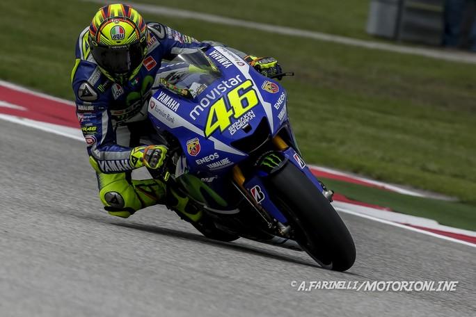 """MotoGP Austin: Valentino Rossi, """"E' stata una buona gara in una pista difficile per la Yamaha ..."""