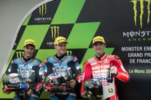 Moto3 Le Mans, Qualifiche: Pecco Bagnaia (3°) conquista la sua prima fila in carriera