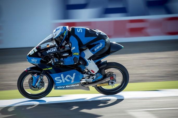 Moto3 Jerez, Qualifiche: ottimo 8° posto in griglia per Romano Fenati, Migno ancora dolorante