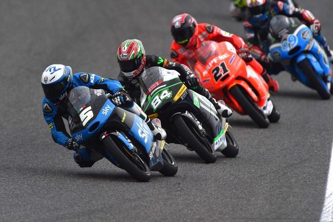 Moto3 Jerez: Romano Fenati felice per il miglior risultato stagionale (6°), Migno 21°