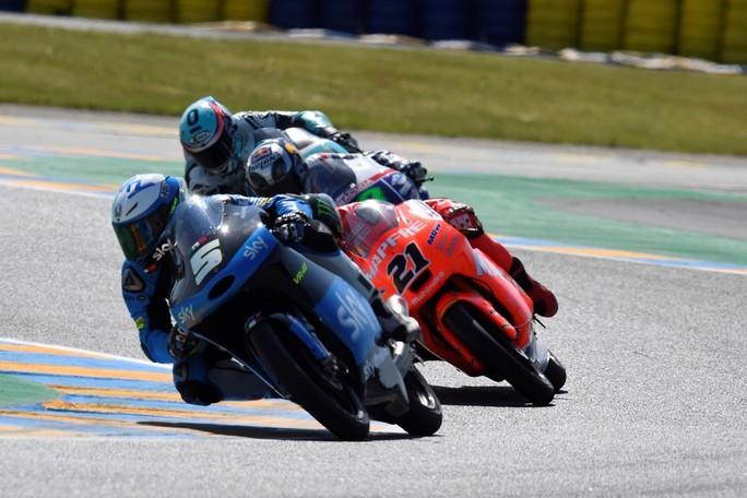 Moto3 Le Mans, Gp: Romano Fenati 1° conquista la Bastiglia