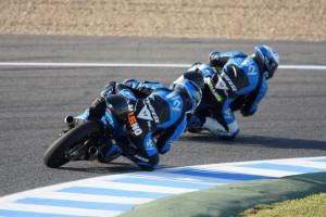 Moto3 Jerez: segnali di ripresa per la Ktm di Romano Fenati, Andrea Migno dolorante ad una spalla