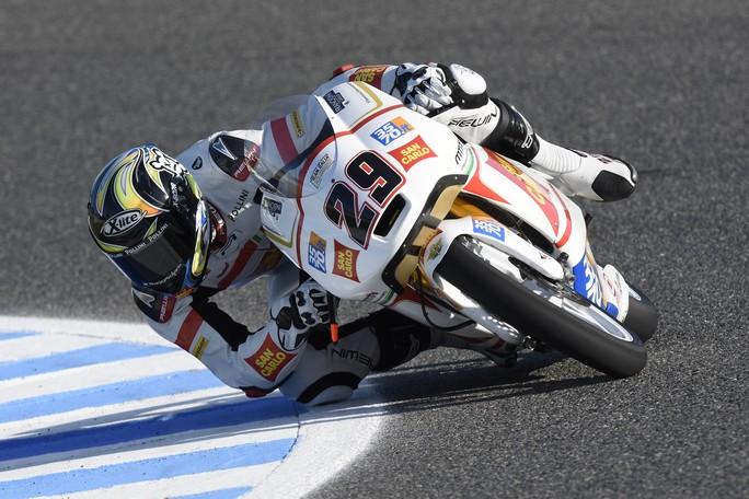 Moto3 Jerez: il gruppo dei migliori non è lontano per Matteo Ferrari e Stefano Manzi