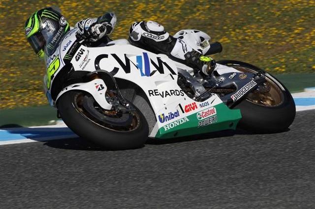 MotoGP Jerez: Inizia bene il weekend di Crutchlow, più in difficoltà Miller