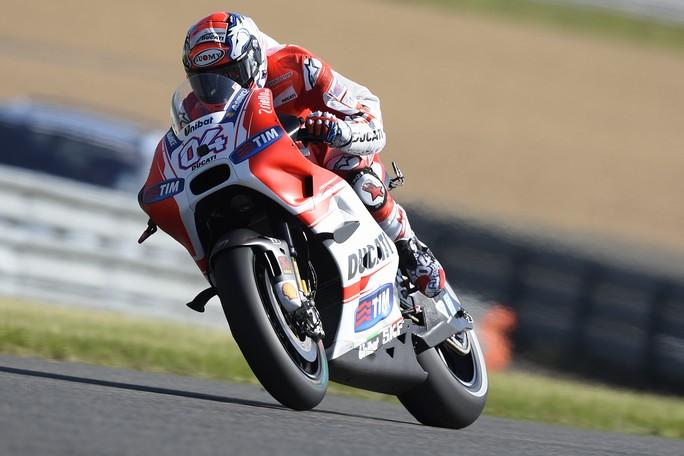 """MotoGP Le Mans: Andrea Dovizioso, """"Siamo partiti molto bene, peccato l'errore con Melandri"""""""