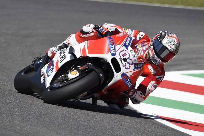 MotoGP Mugello, Prove Libere 4: La Ducati torna in vetta, Dovizioso davanti a Pedrosa e Lorenzo, Rossi è 4°