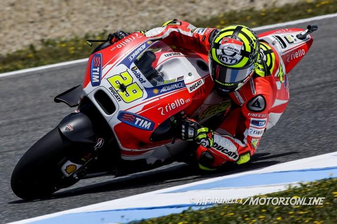 """MotoGP Jerez: Andrea Iannone, """"L'obiettivo è il podio, ma se ci sarà la possibilità di vincere non mi tirerò indietro"""""""
