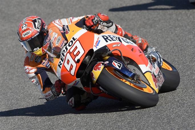 """MotoGP Jerez Marc Marquez: """"Fa male, ma riesco a girare"""""""