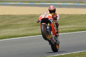 """MotoGP Le Mans Marc Marquez: """"Ho un buon feeling"""""""